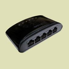 D-Link 5 Port Desktop Switch DES-1005D 100 Mbit Netzwerk Hub Verteiler Internet