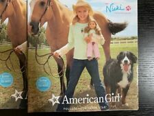 American Girl Doll 2007 Catalog MEET NICKI never used Molly and Emily featured