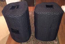 TURBOSOUND iQ12 iX12 Premium Custom Padded Speaker COVERS (2) - Qty of 1=1 Pair!