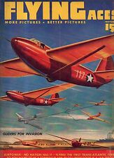 1942 Flying Aces November Pulp - Gliders for Allied Invasion; Paul G Brown; Zero
