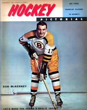 Vol 6 # 4 Issue Dec 1960 Of Hockey Pictorial Nice cover no label Don McKenney