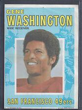 1971 Topps Pin Ups Poster Insert #1 Gene Washington WR San Francisco 49ers