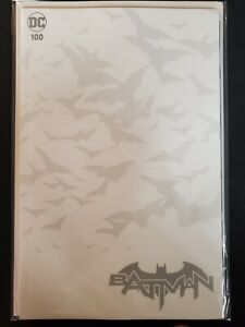 Batman #100 Blank Variant DC VF/NM Comics Book