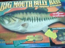 1999 BIG MOUTH BILLY BASS Singing Fish Sensation Motion Activated NEW