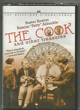THE COOK AND OTHER TREASURES DVD- FATTY ARBUCKLE, BUSTER KEATON- MILESTONE FILMS