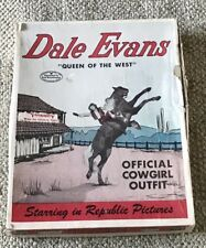 DALE EVANS  OFFICIAL COWGIRL OUTFIT  C. 1950  BOXED  VINTAGE  ROY ROGERS WESTERN