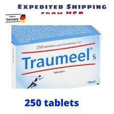 Traumeel S Homeopathic (250 Tablets) Pain Relief Anti Inflammatory