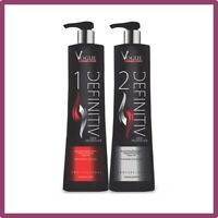 Lissage Bresilien Vogue Definitiv Cheveux Kit Kératine Shampoing Definitif 2x1L