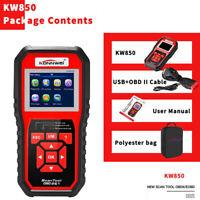 KONNWEI KW850 OBDII Obd2 Scanner Code Reader Car Diagnostic Check Engine Tools