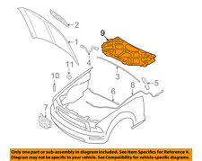 FORD OEM 07-09 Mustang Hood-Insulation Pad Liner Heat Shield 7R3Z16738F