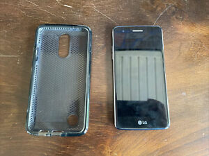 LG K8 LGUS210 - 16GB - Dark Blue (U.S. Cellular, No SIM) Smartphone with Case