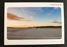 Helvetic Airways 2L Airbus A 319 A319 Schweiz Switzerland Postcard Postkarte NEW