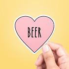 I Love Beer Vinyl Sticker - Car Sticker, Vinyl Decal,Laptop Sticker