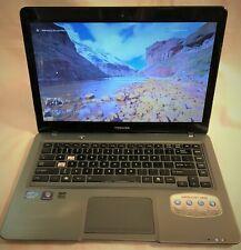 TOSHIBA SATELLITE U845 Intel i5-3317U 1.70GHz 500GB HDD+11GB SSD 6GB RAM Win10