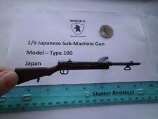 Lxx    1/6 Homemade WWII Japanese Sub-Machine Gun  Model – Type 100 Japan