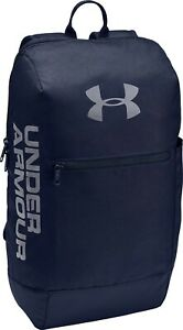 Under Armour Patterson Backpack Rucksack Bag - Travel Gym Sports - Navy