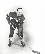 BILLY REAY 8X10 PHOTO MONTREAL CANADIENS NHL PICTURE B/W