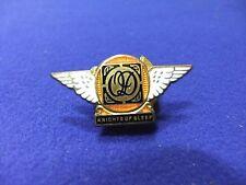 vtg badge QD knights of sleep winged lapel miller 1930s 40s front service effort