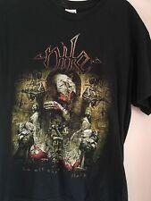 Nile t shirt death metal cannibal corpse obituary carcass deicide heavy