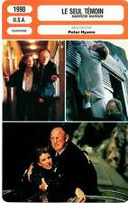 FICHE CINEMA : LE SEUL TEMOIN - Hackman,Archer,Hyams 1990 Narrow Margin