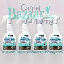 4 Sprays Shaw R2X Hard Surface Floor Cleaner 32oz ~GREEN FORMULA~ (NO RINSE!)