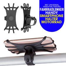 360° Universal Handyhalterung Fahrradlenker Handy Smartphone Halter Motorrad Neu