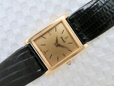 Midsize PIAGET 18K GOLD Manual Wind Wristwatch Ref.908 - w/18K Buckle