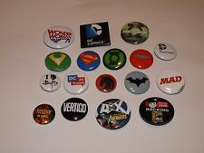 SDCC EXCLUSIVE PINS SET OF 17 batman superman wonder woman dark horse avengers