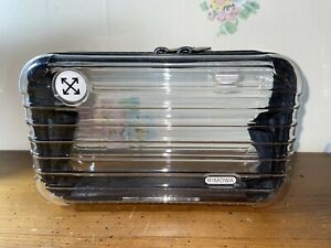Rimowa x Off White Limited Edition Exclusive Clear Travel Amenity Case (Rare)