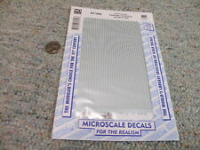 Microscale decals HO 87-390 Union Pacific passenger car striping  G132