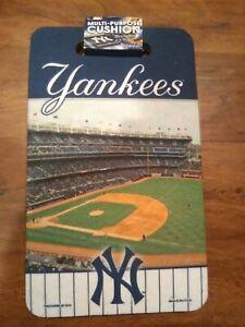 New York Yankees Seat/Multi Purpose Cushion 10 x 17 MLB Licensed-- New