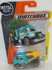 Brand New Matchbox Die Cast Tree Lugger, Tree removal and replanting truck