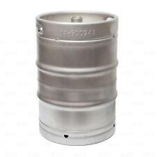 1/2 Barrel Stainless Steel Commercial Beer Half Keg 15.5 Gallon Sankey D Spear