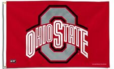 Ohio State Buckeyes Rico 3x5 Flag w/grommets Outdoor House Banner University of