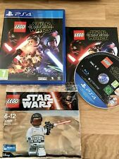 Lego Star Wars Episode 7 PS4 with Finn mini fig