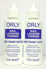 Orly Nail Lacquer Polish Thinner 2oz/59ml - Set of 2