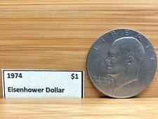 1974 Eisenhower Dollar Coin $1 RARE!