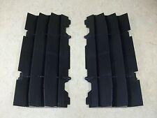 2 OEM BLACK KTM RADIATOR GUARDS SCREENS SHIELDS 125 250 400 450 525 SX EXC MXC