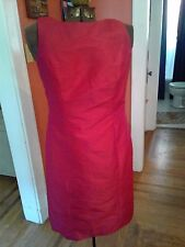 Alfred Sung Tea Dress/Formal/Homecoming in Red Size 10 NWT