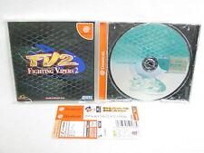 Dreamcast Lucha Vipers 2 FV2 Sega Importado Japón Juego Dc