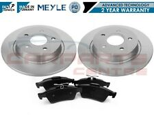 FOR VOLVO C30 C70 S40 V40 V50 06- REAR AXLE MEYLE PD COATED BRAKE DISCS PADS SET