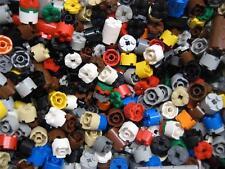 50 LEGO ROUND 2x2 BRICKS FLATS PLATES mixed lot multi-colored circle pillar
