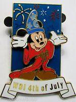 Disney WDI Sorcerer Mickey 4th of July LE 300  Pin