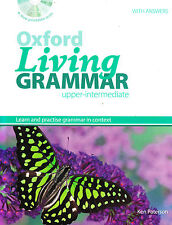 OXFORD LIVING GRAMMAR UPPER-INTERMEDIATE Book w Answers &CONTEXT-PLUS CD-ROM New