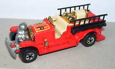 HONG KONG HOT WHEELS FIRE 1/64 POMPIERS OLD NUMBER 5
