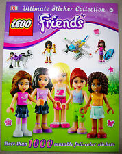 LEGO FRIENDS - ULTIMATE STICKER BOOK COLLECTION w/1000 stickers