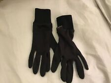Adults Outlast Super Glove Liners BLACK Extra Warmth L/ XL