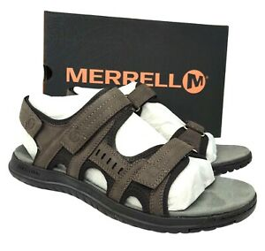 Merrell Men's Veron Convert stylish Sandal EVA foam midsole for  cushioning sz 9