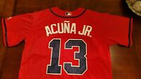Ronald Acuna JR # 13 New Stitched Jerseys Multiple Colors