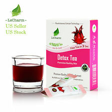 Premium 100% Natural Premium Detox Organic Black Tea Sugar Free (10 Sachests)